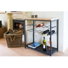 Chateau wine rack for 10 bottles of wine