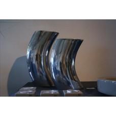 Aluminium Moon Vase