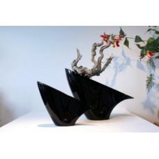 Koma Vase Black (Large)