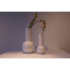New York Doom Vase White