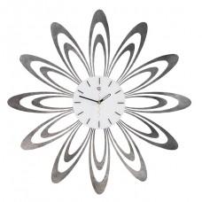 Fiore silver marbled Wall Clock Tav Design woonaccessoires