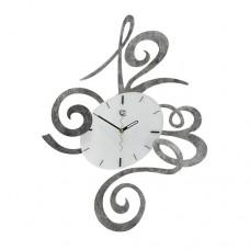 Fredo silver marbled Wall Clock Tav Design woonaccessoires