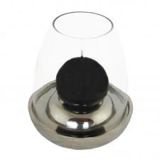 Windlicht Egg aluminium Rocaflor design woonaccessoires