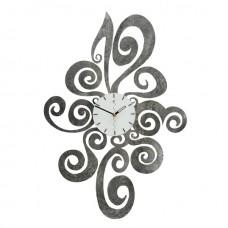 Lazio silver marbled Wall Clock Tav Design Woonaccessoires