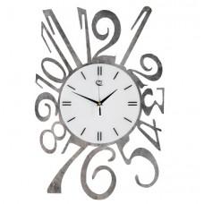 Tavi silver marbled Wall Clock Tav Design woonaccessoires