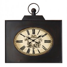 Wall Clock London Westminister black