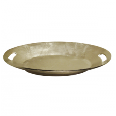 Scale large unwrought nickel Diga Colmore woonaccessoires