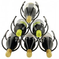 Wine rack Pyramid 6 bottles